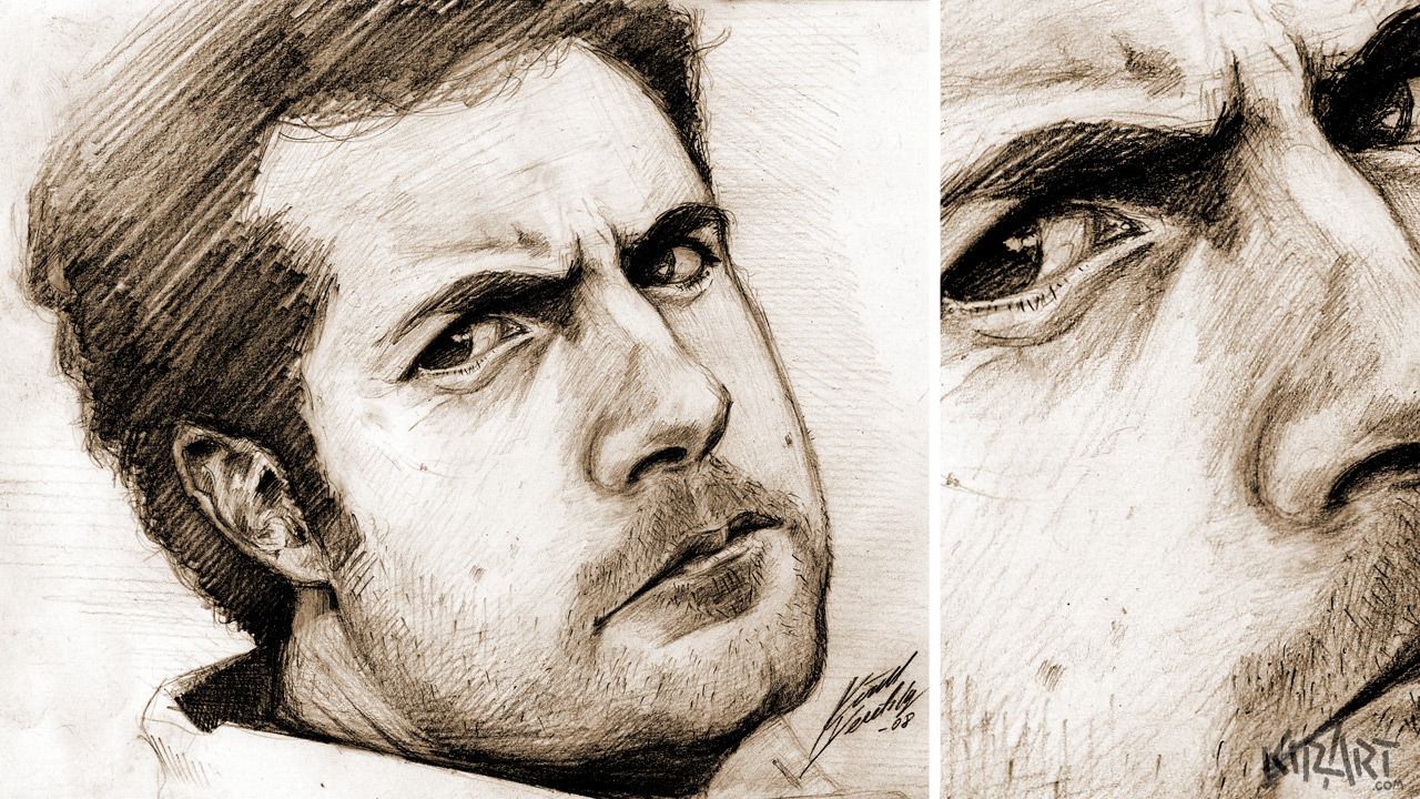 Portrait Pencil Sketches