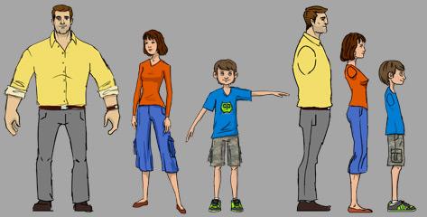 Concept Art - FiOS Family