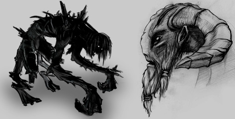 Creatures Concept Art