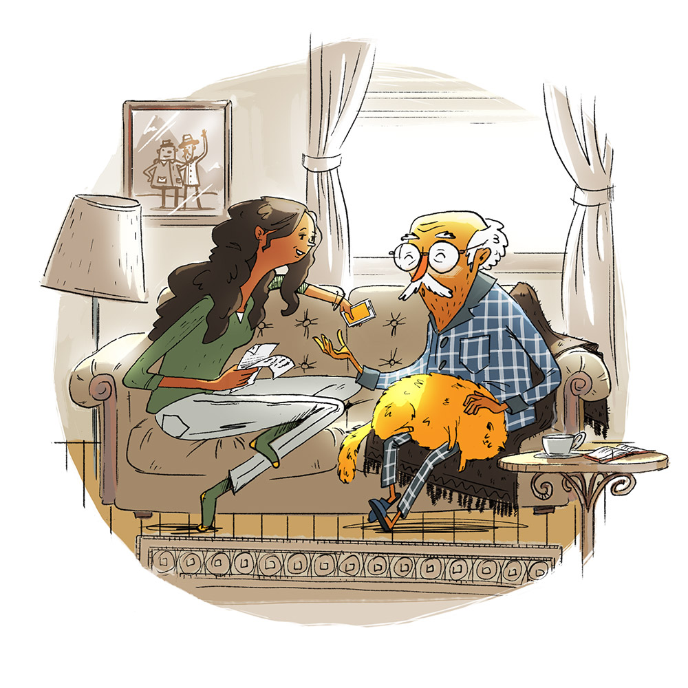 StoryCorps Illustrations